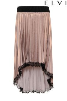 Elvi Premium Pleated Shimmer Skirt