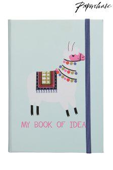 Paperchase No Probllama A5 Ideas Notebook