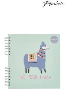 Paperchase No Probllama Scrapbook