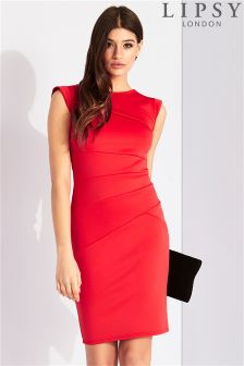 Lipsy Asymmetric Bodycon Dress