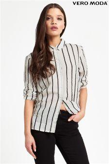 Vero Moda Pinstripe Shirt