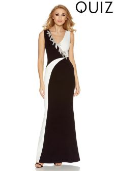 Quiz Fishtail Maxi Dress