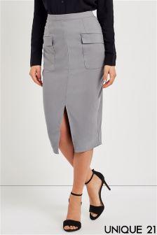 Unique 21 Pocket Pencil Skirt