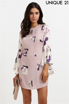 Unique 21 Floral Shift Dress