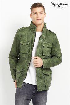 Pepe Jeans Camo Print Jacket