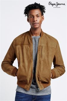 Pepe Jeans Outerwear Leather Jacket