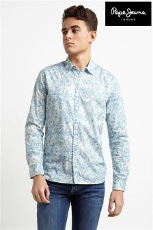 Pepe Jeans Mens Long Sleeve Shirt