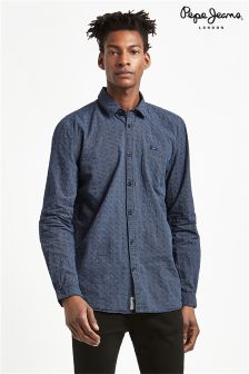Pepe Jeans Solid Long Sleeve Shirt