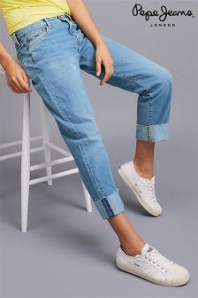 Pepe Jeans Roll Up Denim Jeans