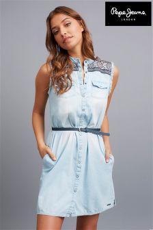 Pepe Jeans Denim Mini Dress