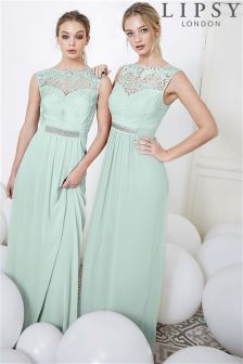 Lipsy Jasmine Jewel Embellished Maxi Dress