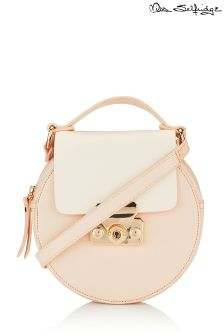Miss Selfridge Round Lock Mini Bag