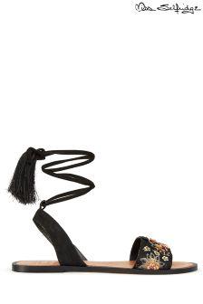 Miss Selfridge Embroidered Sandals