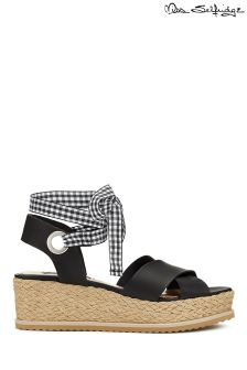 Miss Selfridge Gingham Flatform