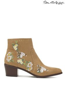 Miss Selfridge Embroidered Boots