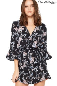 Miss Selfridge Petite Printed Playsuit
