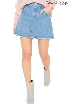 Miss Selfridge Petite Denim Skirt