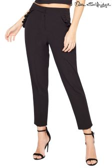 Miss Selfridge Petite Frill Detail Trousers