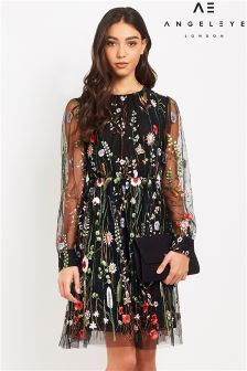 Angeleye Floral Lace Dress
