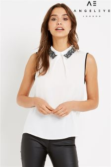Angeleye Sleeveless Blouse