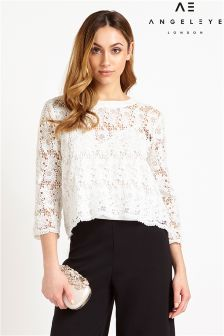 Angeleye Lace Top