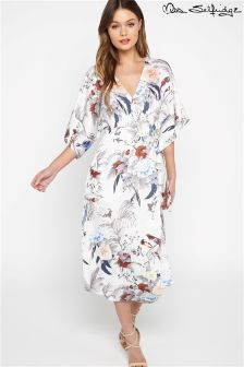 Miss Selfridge Wrap Front Floral Dress
