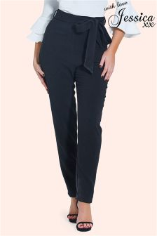 Jessica Wright Tie Front Trousers