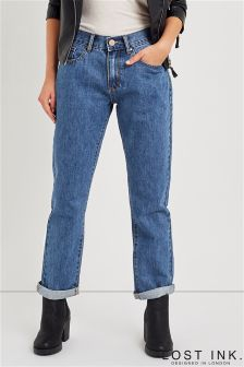 Lost Ink Straight Leg Jeans