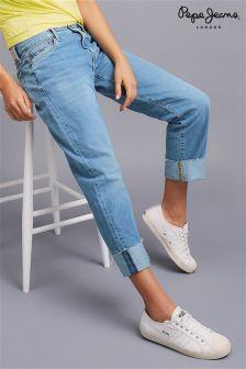 Pepe Jeans Rolled Hem Denim Jeans