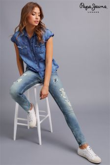 Pepe Jeans Distressed Jeans