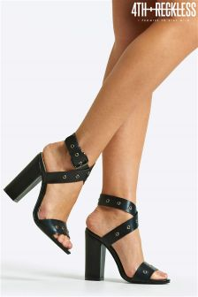 4th & Reckless Wrap Buckle Sandals
