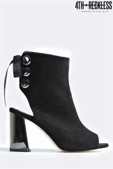 4th & Reckless Block Heel Ankle Boots