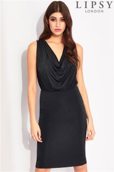 Lipsy Cowl Neck Bodycon Dress