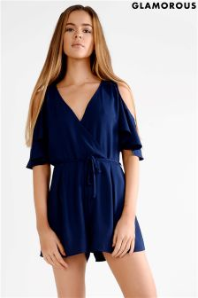 Glamorous Cold Shoulder Playsuit