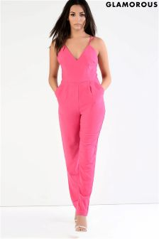 Glamorous Strappy Tailored Jumpsuit