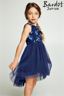 Bardot Junior Mesh High Low Dress