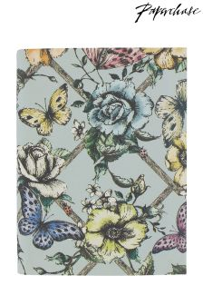 Paperchase Floral A6 Notebook