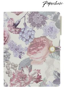 Paperchase Wedding Floral Multi List Book