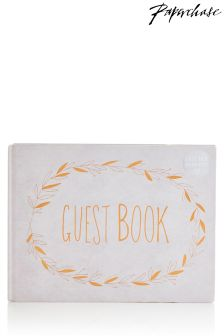 Paperchase Wedding Guest Book