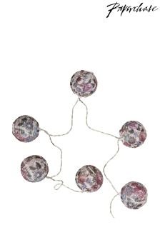 Paperchase Wedding Floral Lantern Fairy Lights