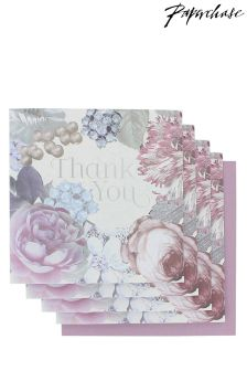 Paperchase Floral Wedding Thank You Cards