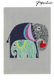 Paperchase A5 Elephants Stitched Notebook