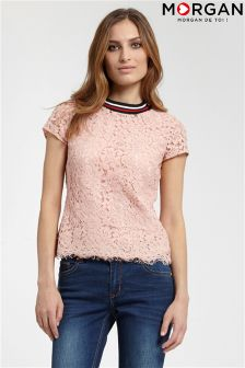 Morgan Lace Top