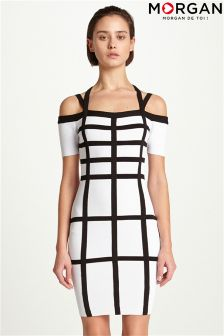 Morgan Gridwork Dress