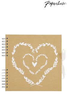 Paperchase Wedding Heart Scrapbook
