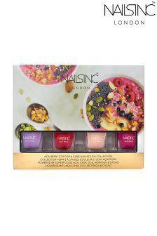 Nails Inc Spring Kit Acai Bowl Four Piece Minis