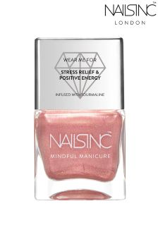 Nails Inc Rose Gold Nail Varnish