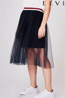 Elvi Curve Mesh Sport Skirt