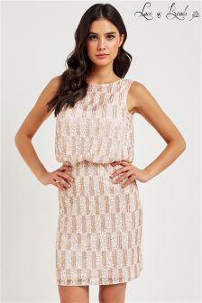 Lace & Beads Embellished Dress