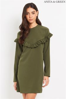 Anita & Green Ruffle Tunic Dress